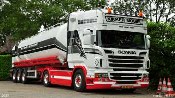 Scania R500 voor Maru Transport