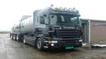 Scania r500 voor Varkenshouderij Beulink