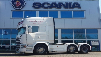 Scania R580 voor Beimer Meat