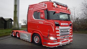 Scania S730 voor KJO Kristian Olsen (DK)