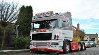 Scania R520 voor Gebr. de Kraker
