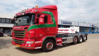 Scania R500 voor J. Helmond & Zn Metaal B.v.