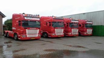 Vier Scania R500 trekkers voor Patrick v.d. Hoeven