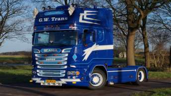 Scania R520 voor G.W. Trans