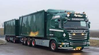 Scania R580 voor AH Handel & Transport (DK)