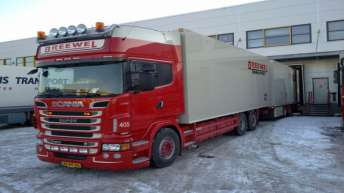 Scania R500 voor Breewel Transport