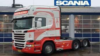 Scania R580 voor Bent Kristensen A/S (DK)