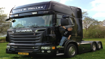 Nieuwe Scania R560 voor Kalle R. Heller (DK)