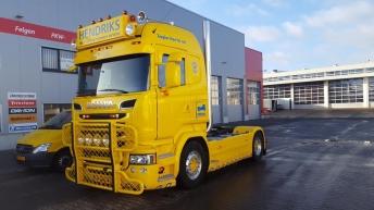 Scania R730 voor Bergingsbedrijf Hendriks