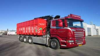 Scania R500 voor Lyngby Produkthandel (DK)