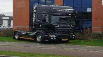 Scania R520 demo voor Scania Hoogvliet