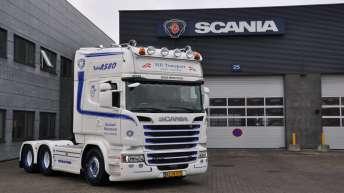 Scania R580 voor MB Transport (DK)