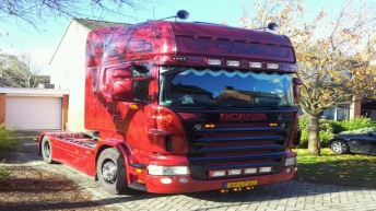 Tweedehands Scania R500 voor Valke Transport