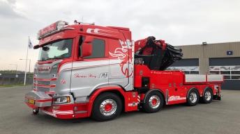 Scania S650 voor Vognmand Thomas Berg Johansen (DK)