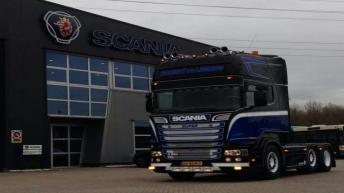 Scania R520 voor Robert van der Linden