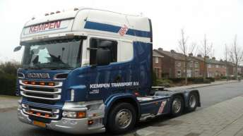 Scania R560 voor Kempen Transport B.v.