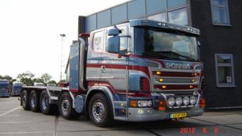 Scania R730 voor Brouwer uit Nieuwegein