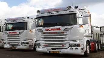 Twee Scania R520 trekkers voor H.M. Verploegen
