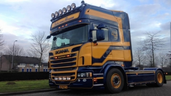 Scania R520 voor Gebr. van Iterson
