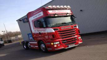 Scania R560 voor MJS Transport