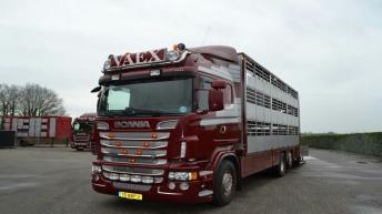 Scania R500 voor Vaex