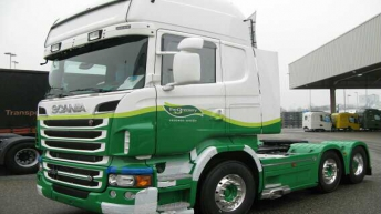 Scania R730 in opbouw voor Eda Trans