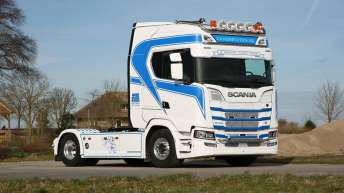 Scania S730 voor Bos uit Lopik
