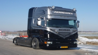 Scania R500 voor Pannekoek Transport
