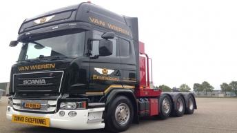 Scania R730 voor Van Wieren