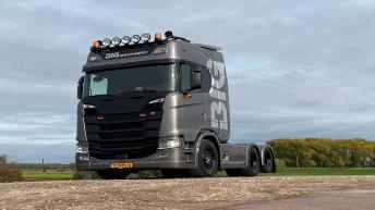 Scania S650 voor Big Machinery