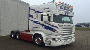 Scania R580 voor Martemoen Transport (N)