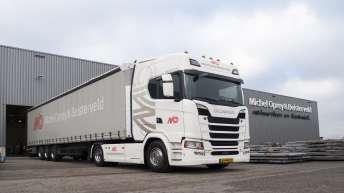 Michel Oprey & Beisterveld kiest voor S520 New Generation Scania