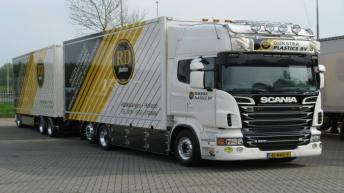 Scania R500 voor Dijkstra Plastics