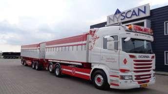 Scania R580 voor Vallensbæk Autotransport (DK)