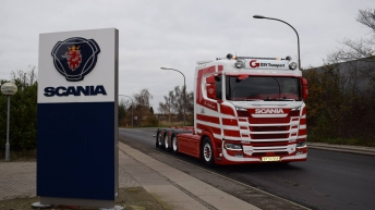 Scania S650 voor Per Andersen (DK)