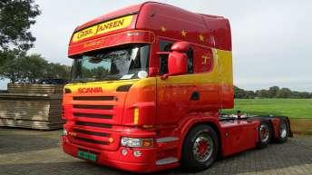 Scania R500 voor Gebr. Jansen