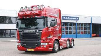 Scania R580 voor Evert van Ooijen