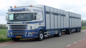 Scania R500 voor Bergsma
