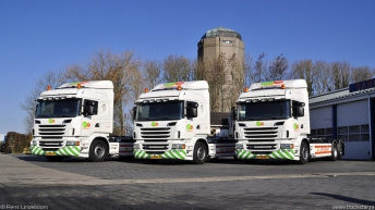 Drie nieuwe Scania R500's voor Sandstra