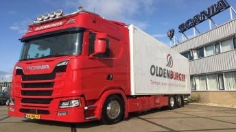 Scania S650 voor Oldenburger Aalsmeer