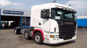 Scania R730 in opbouw voor Gerritse Tiel