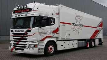 Scania R520 motorwagen voor Hazeleger