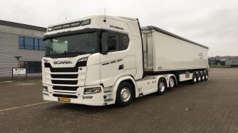 Scania S650 voor Hans Erik Skov (DK)