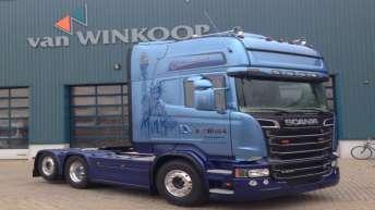 Scania R500 voor A. v/d Broek