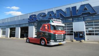 Nieuwe Scania S520 voor Top Transport