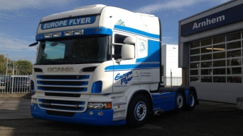 Scania R500 voor Europe Flyer
