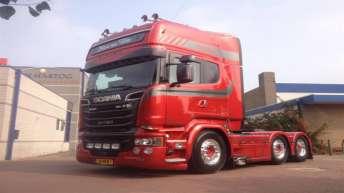 Scania R580 voor Johan van Welie