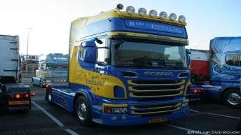 Scania R500 voor Bart v/d Linden & Zn.