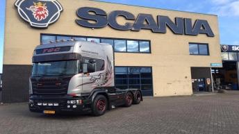 Scania V8 R580 Silver Griffin 067/100 - TGC te Middelburg.