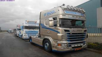Scania R500 voor Transrivage